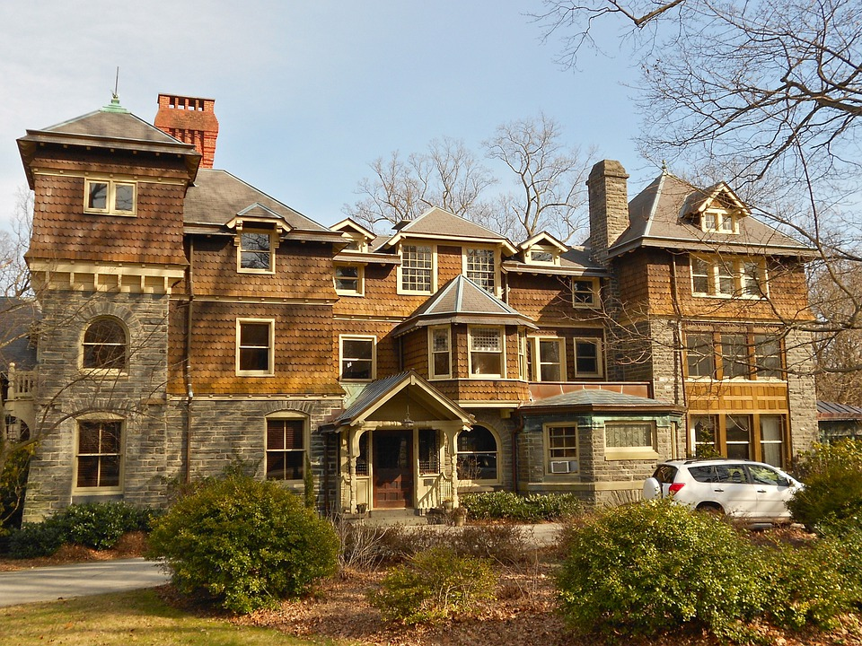 Haverford, Pennsylvania, House, Home, Mansion, Estate