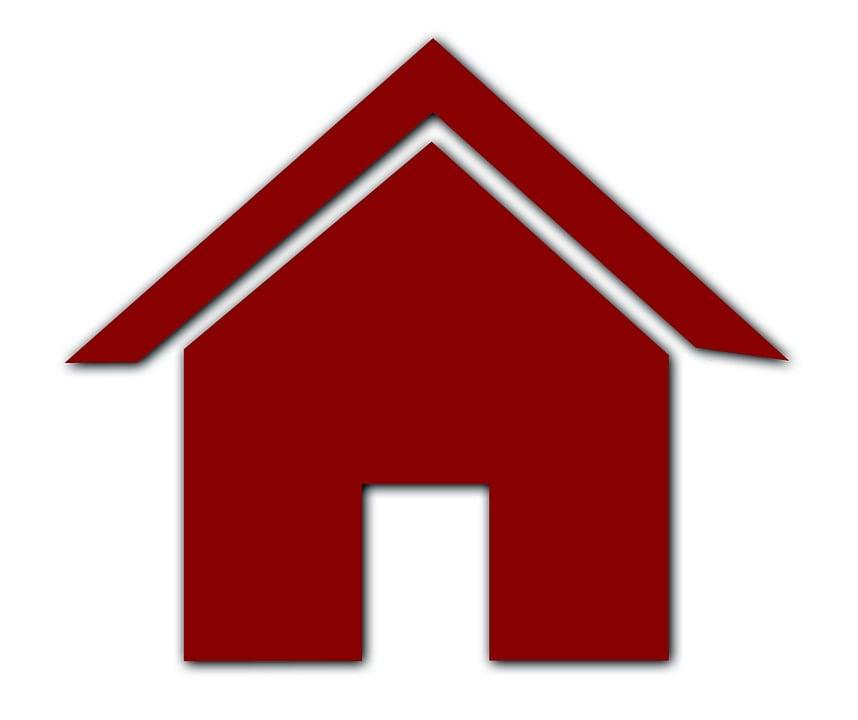 House, Shield, Building, Advertising, Facade, Input