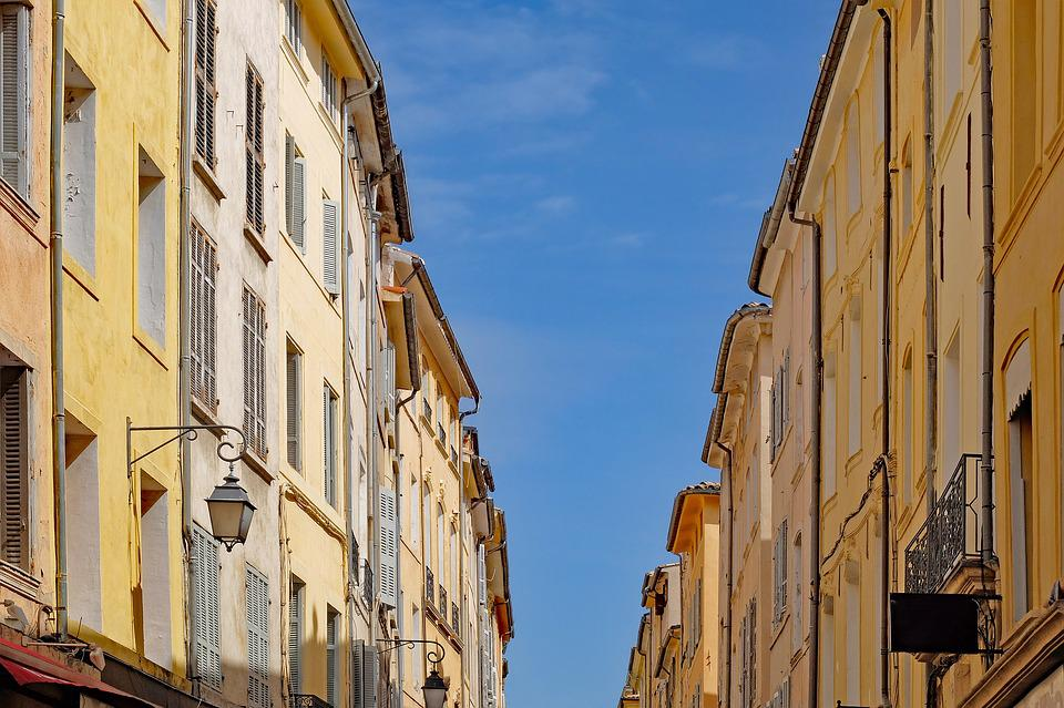 Architecture, Street, House, Facade, Building, Ancient