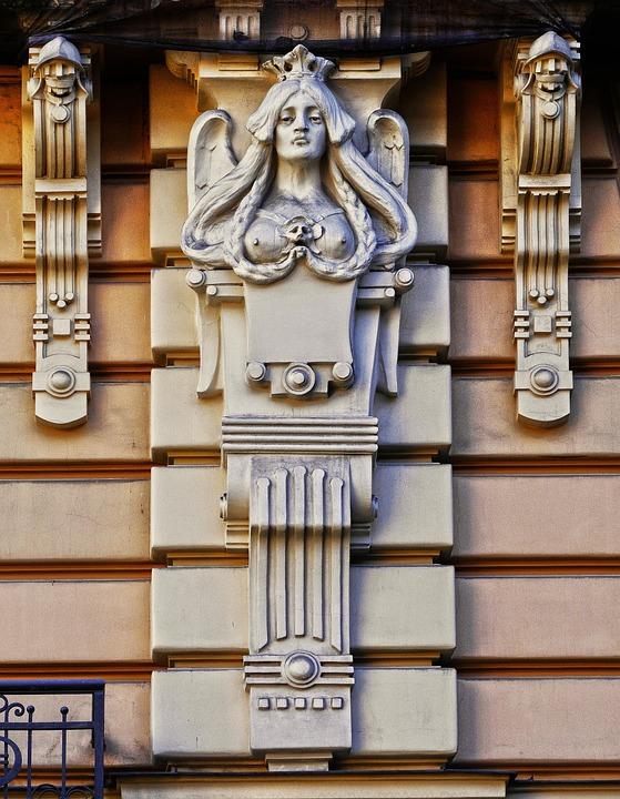 Free Photo House Facade Facade Architecture Art Nouveau