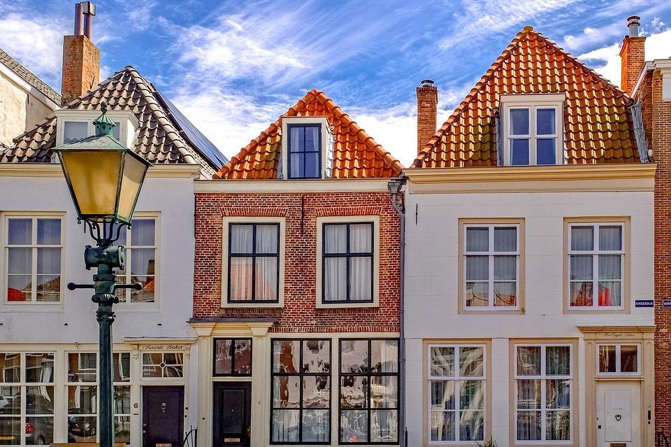 Building, Home, House, Facade, Middelburg, Middelbourg