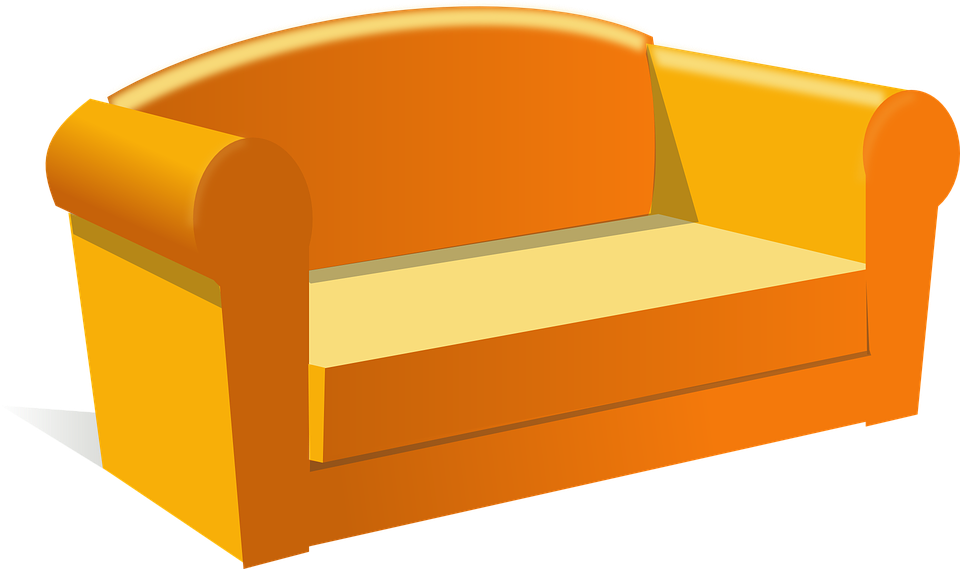 Couch, Furniture, House, Living-room, Sofa