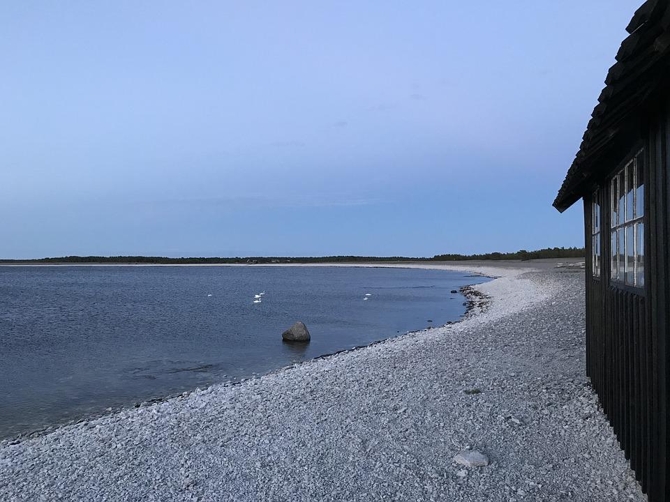 House, Gotland, Himmel