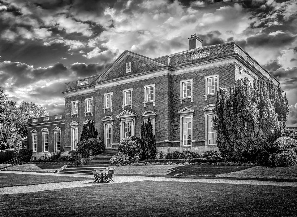 House, Stately Home, Grand, Home, Architecture