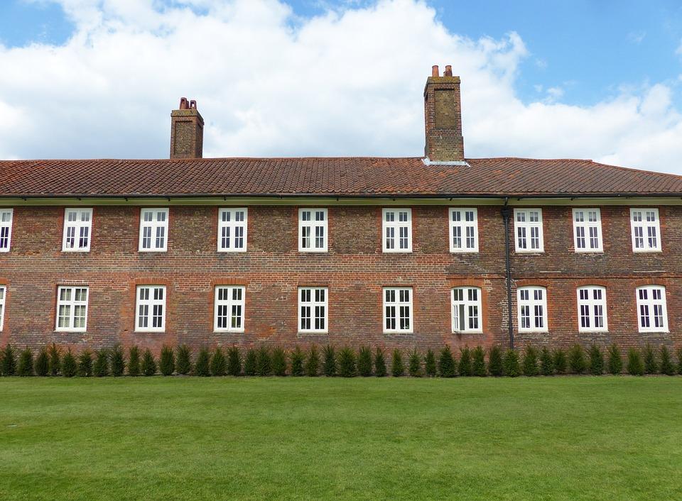 Hampton Court Palace, English House, House, Brick House