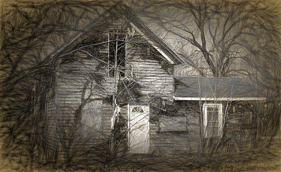Free photo House Haunted Spooky Scary Haunted House Halloween - Max