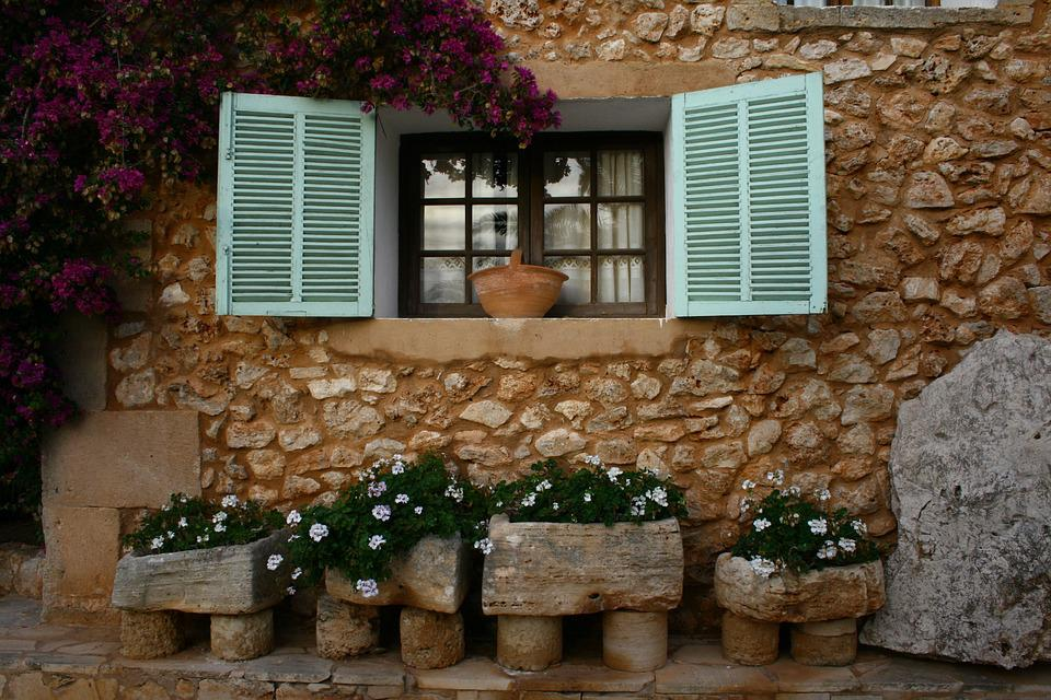 House Window, Window Shutters, Picturesque, House