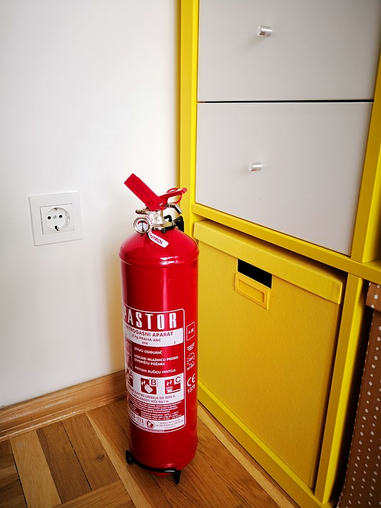 House, Wood, Indoors, Fire Protection