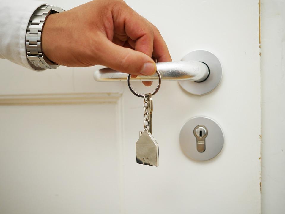 House, Key, House Keys, Real Estate, Building, Door