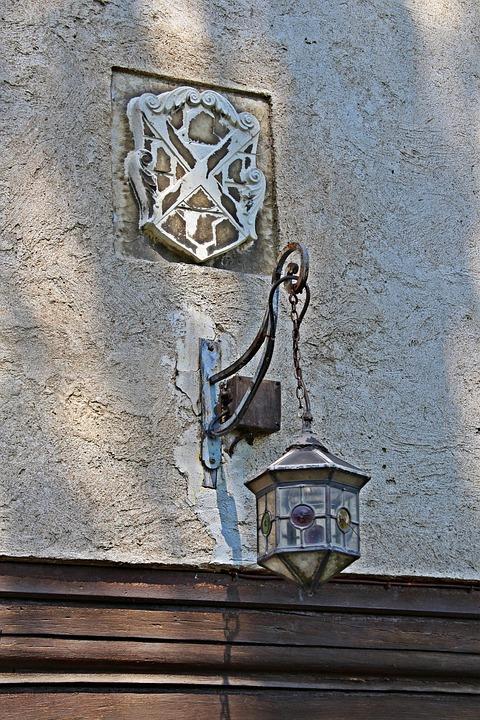 Old Lantern, Hanging Lamp, House Lantern, Historically
