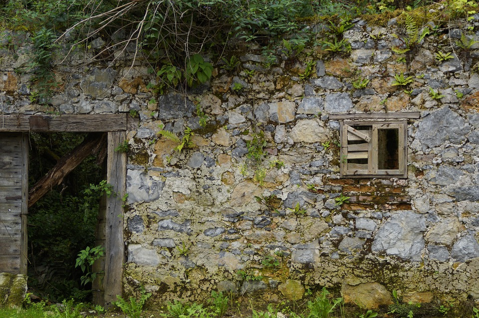 Lost Place, Lapsed, Ruined House, House, Ruin