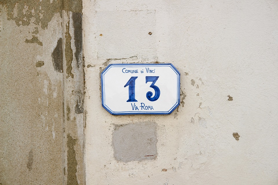 House Number 13, House, Number, 13, Italy, Wall, Street