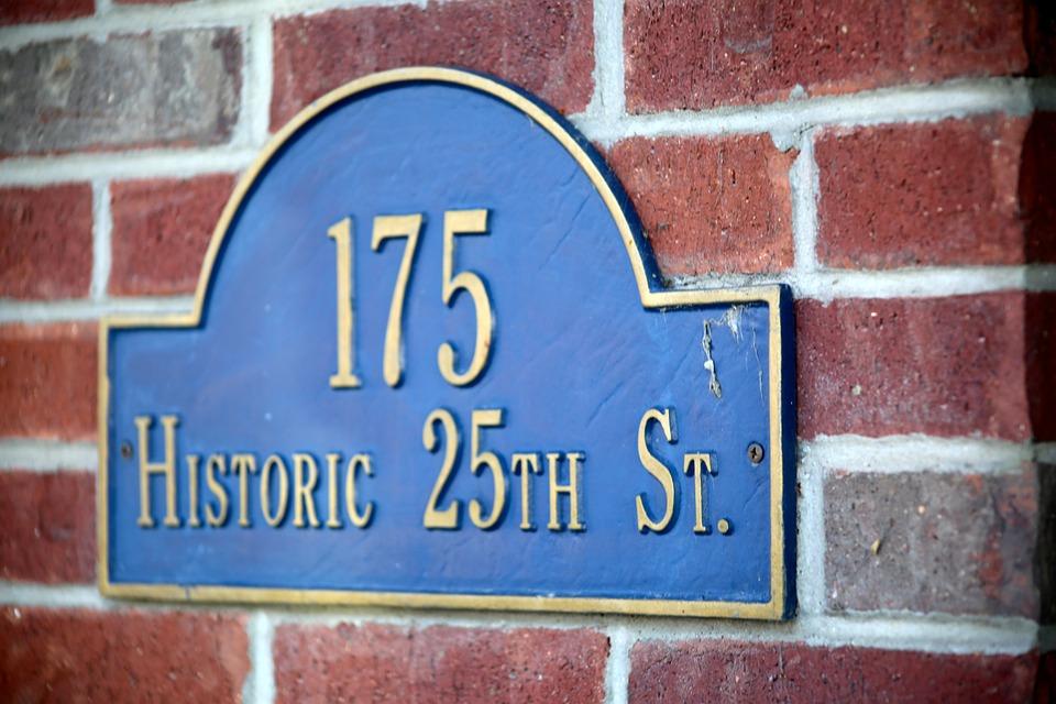 House Number, Street Number, Number, Street, Building
