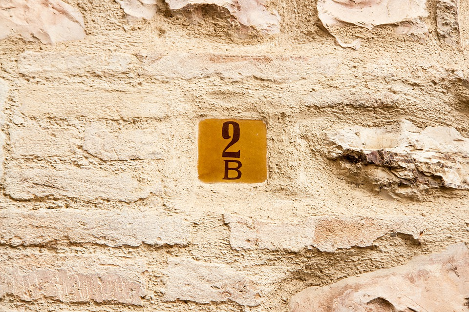 Wall, 2b, House, Number, Italy, Assisi, Travel, Two