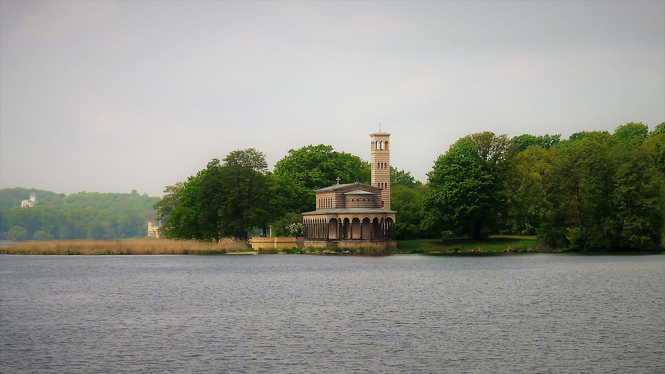 Church, Potsdam, House Of Worship, Building
