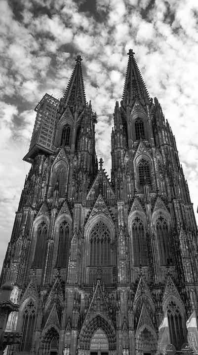 Dom, Cologne, House Of Worship, Church, Building