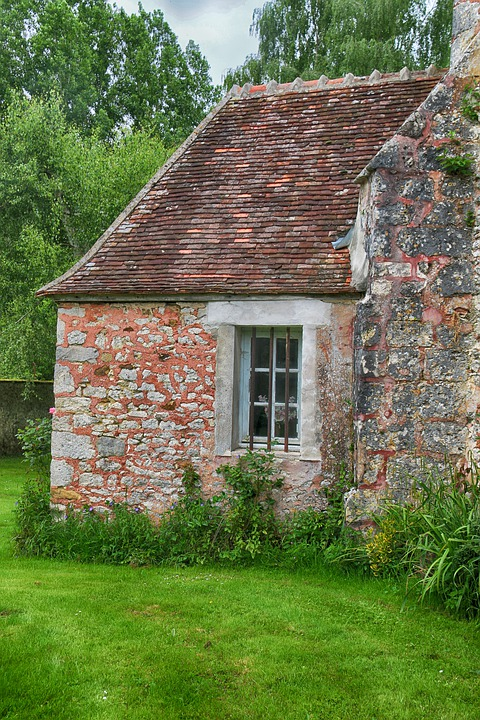 Small House, House, Pierre, Brick, Old, Former