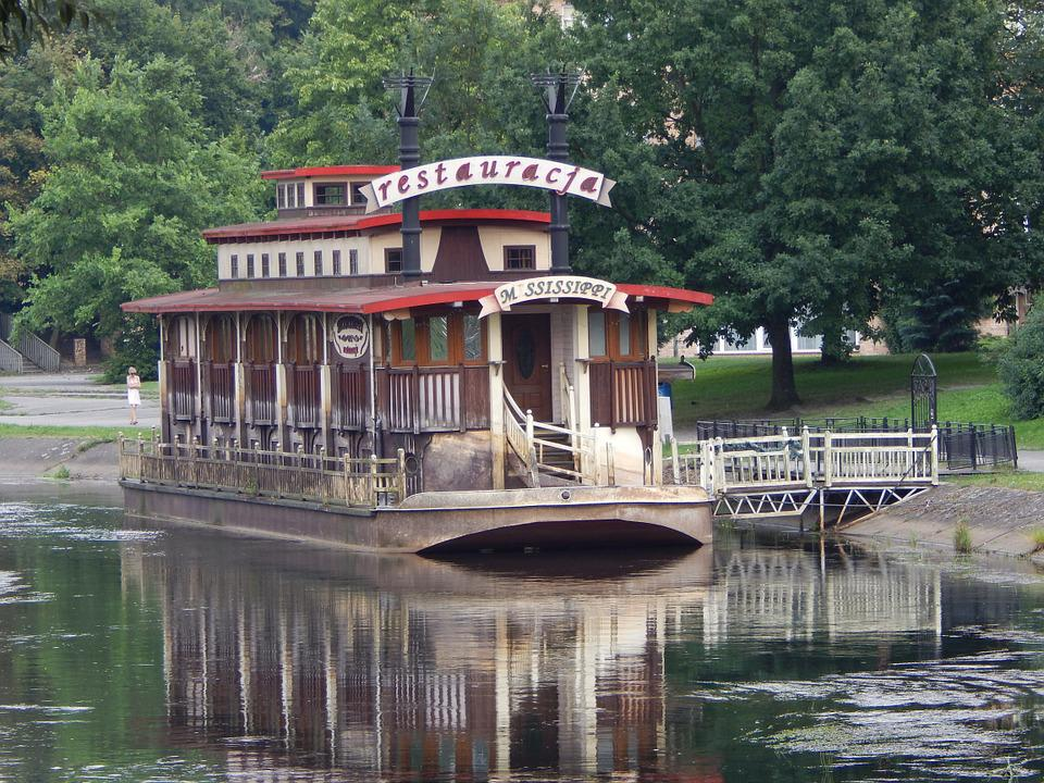 Boat, The Barge, House On The Water