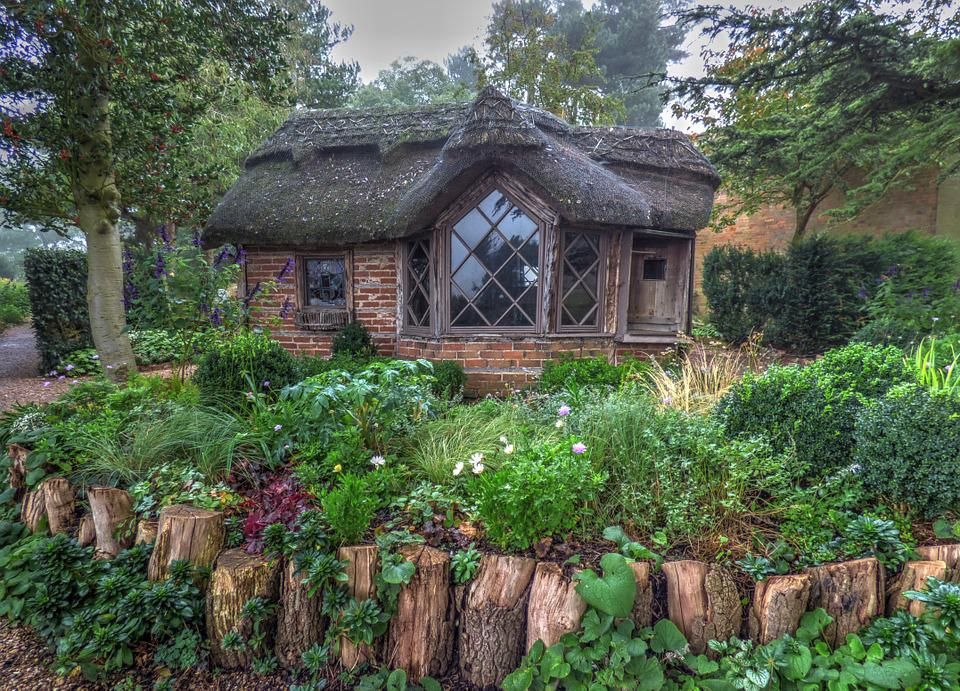 Cottage, Cabin, Outside, Nature, House, Wood, Natural