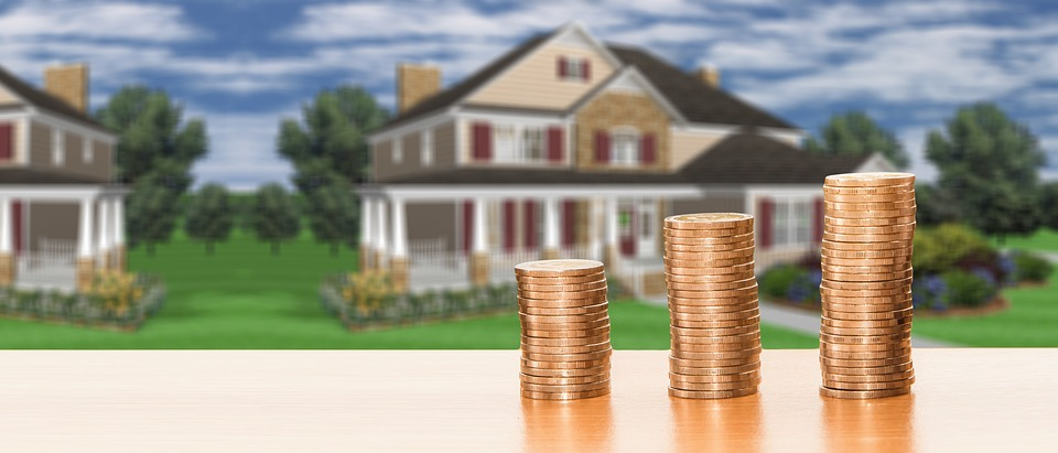 Real Estate, Home, House Purchase, Save, Money, Coins