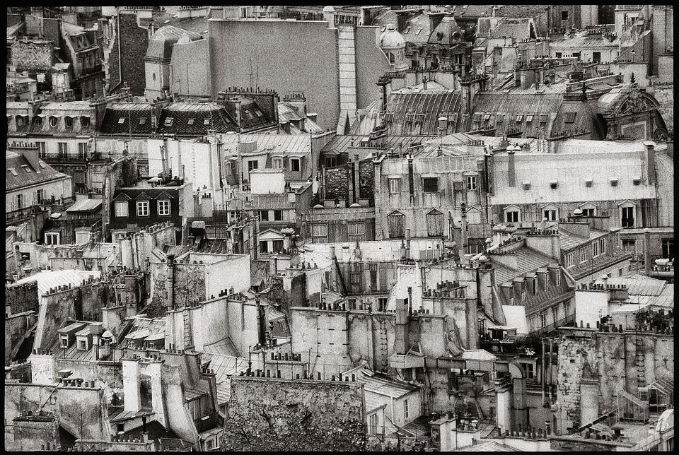 Free Photo House Roof France Roof Roofs Sacré Coeur Paris