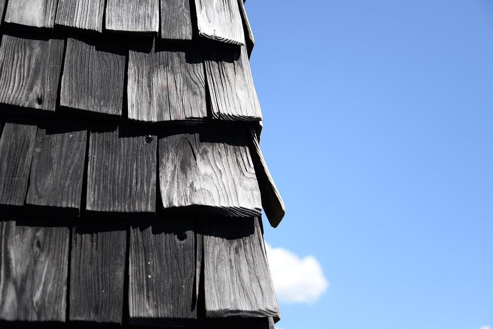 Roof, Shingles, Old, House, Roofing
