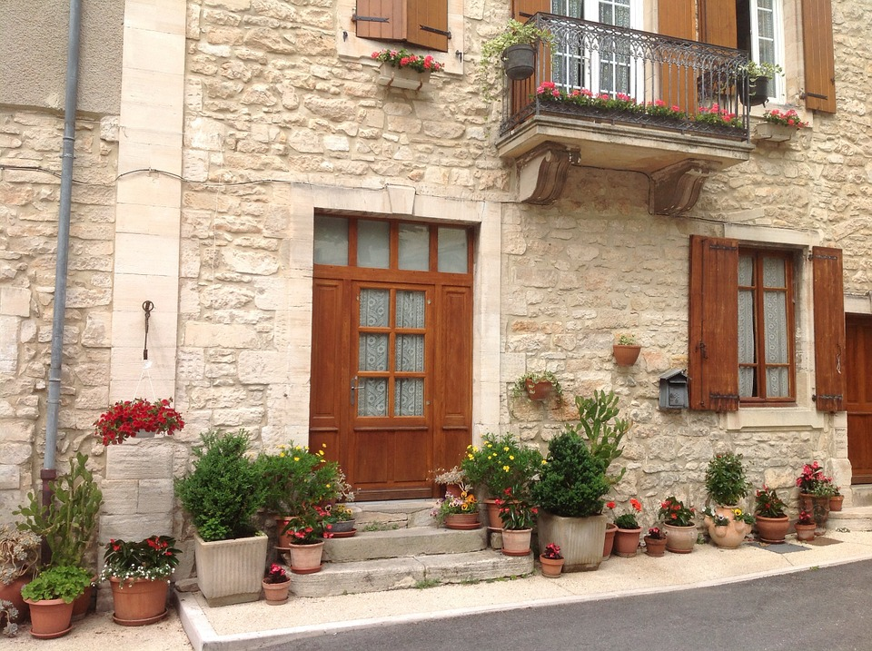 House, Stone House, Door, Stone, Residential, Building