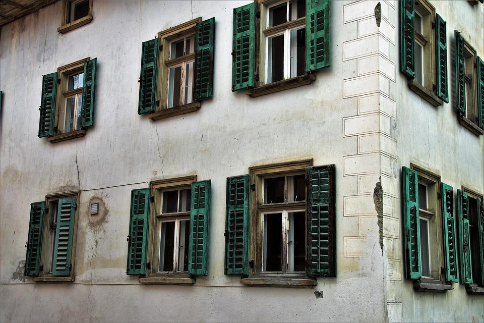 Architecture, House, Old Plaster, The Structure Of The