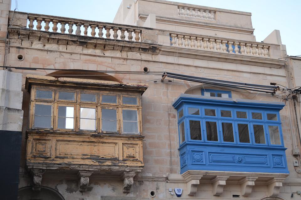 Architecture, Building, Old, Travel, House, Balcony