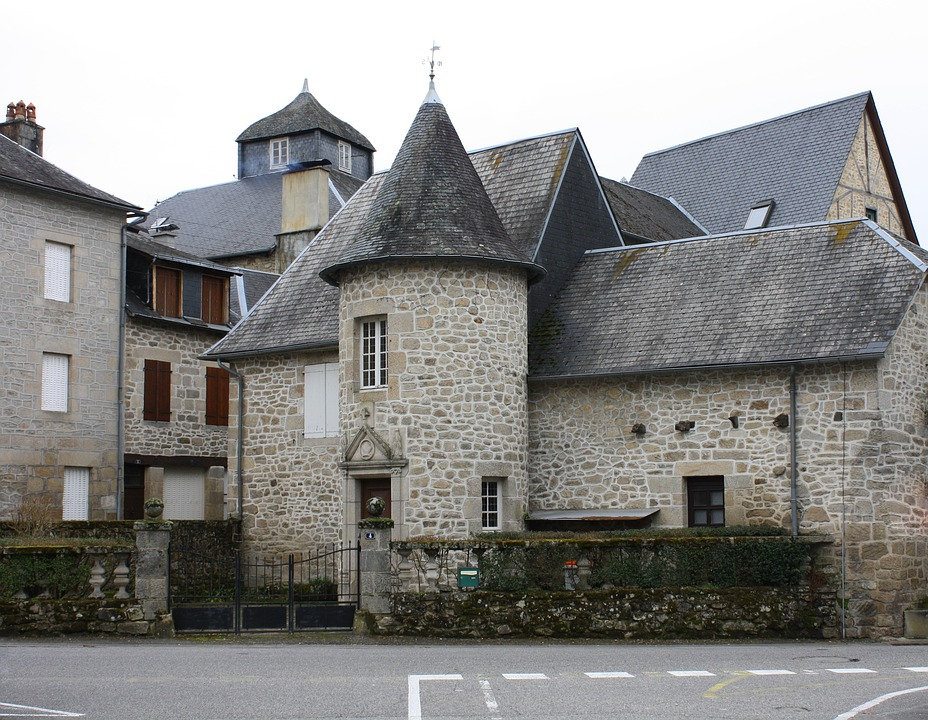 House Turret, Ancient Stone Houses