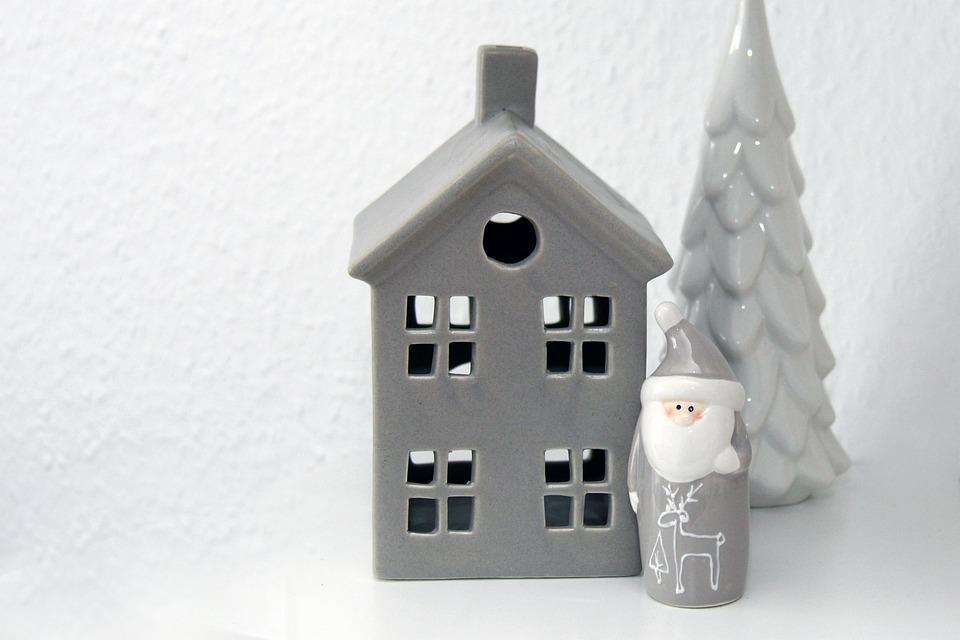 Tealight, House, Deco, Decoration, Winter, Christmas
