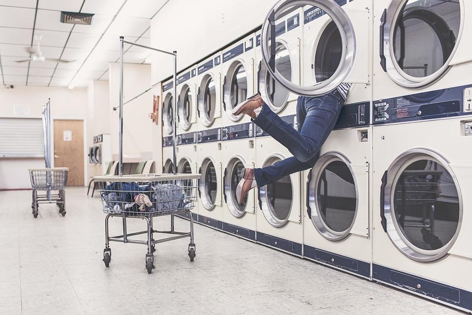 Laundry, Washing Machines, Housewife, Household