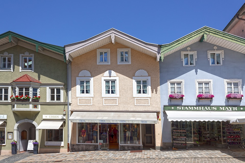 Houses, Facades, Architecture, Building, Historically