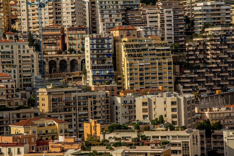 Monaco, Houses, City, City State, Building, Skyscrapers