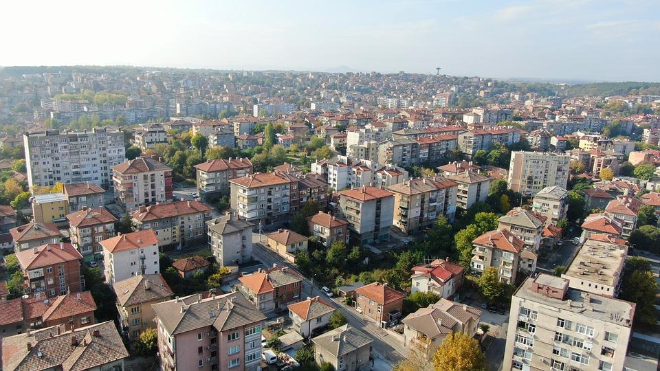 City, Buildings, Urban, Apartments, Houses