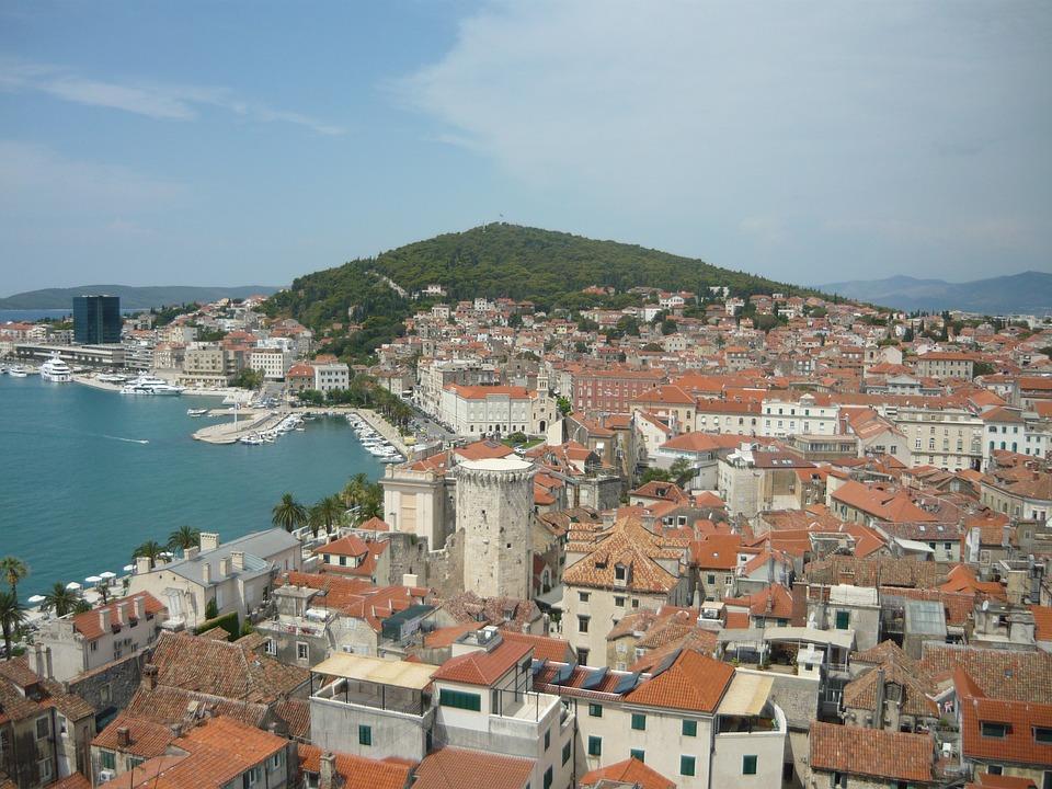 Split, Croatia, Holiday, City, Houses