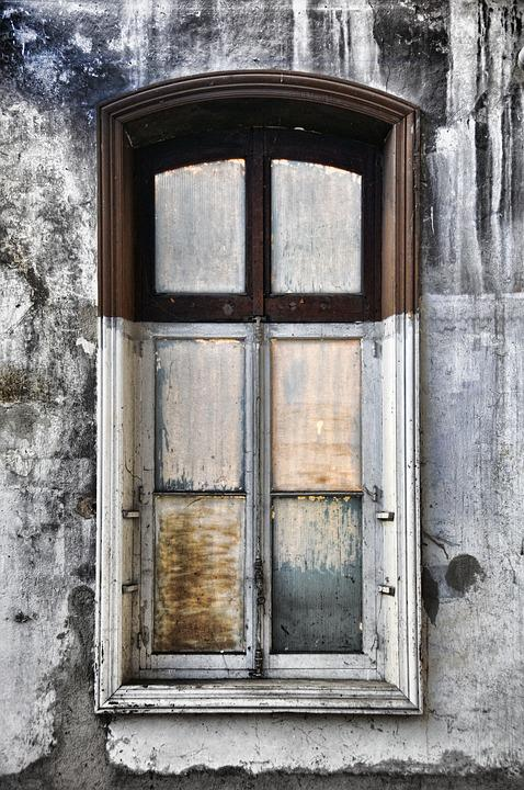 Window, Interior, Houses, Old, Facade, Osed, Painted