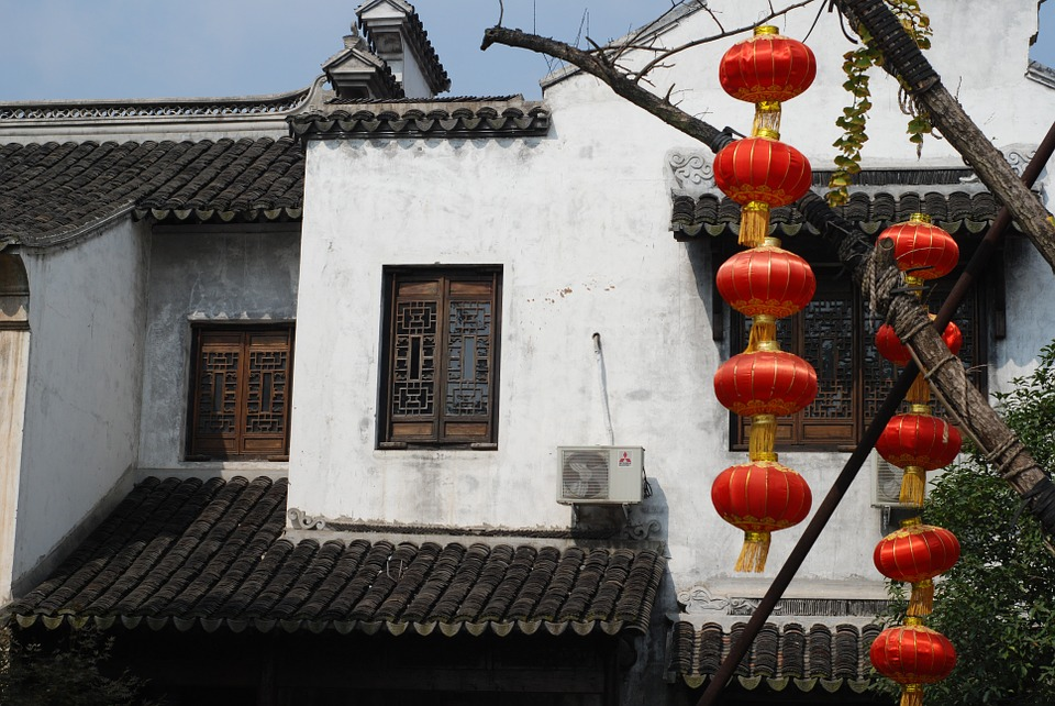 The Ancient Town, Lantern, Houses