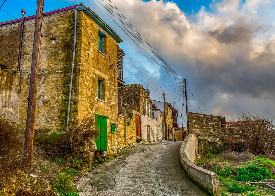 Village, Street, Architecture, Houses, Old