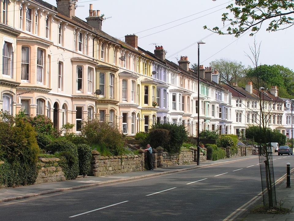Houses, Buildings, Street, Residential, Urban, Hastings