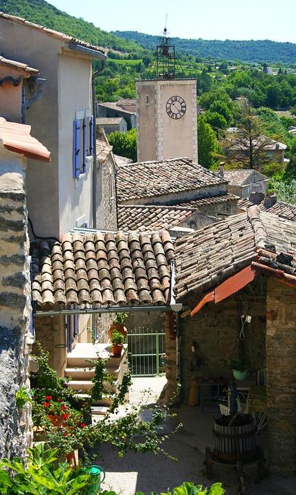 Old, City, Houses, Buildings, Strait, Street