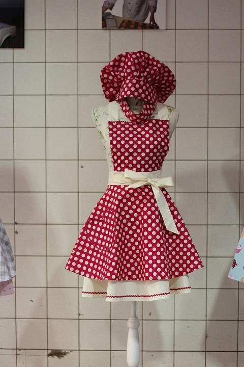 Free photo Housewife Apron Kittel Sexy Küchengardarobe Apron - Max Pixel