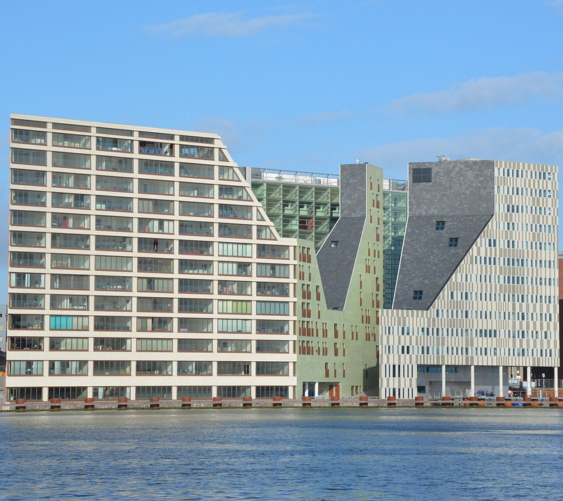 Housing, House, Amsterdam, City, Holland, Architecture