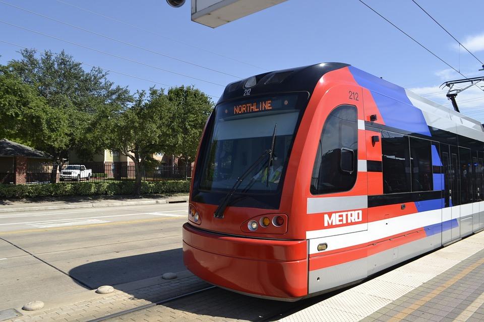 Houston Texas Train, Metro Rail, Train Station