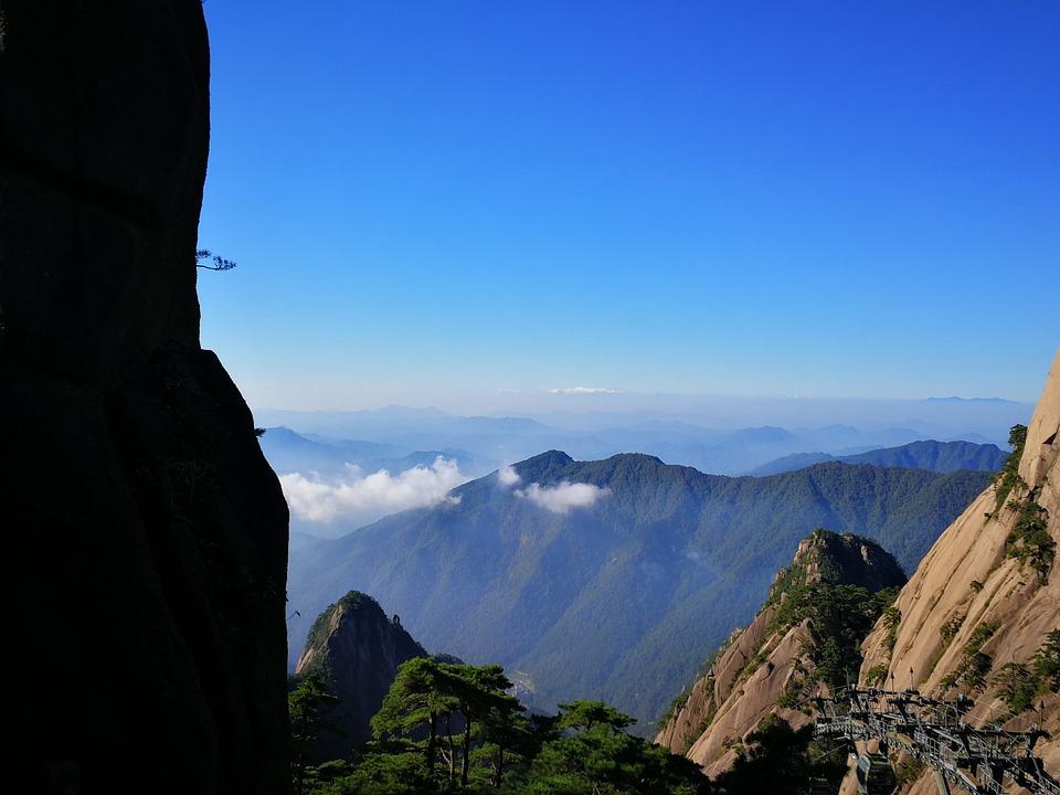 Yellow Mountain, Huangshan, Landscape, Natural