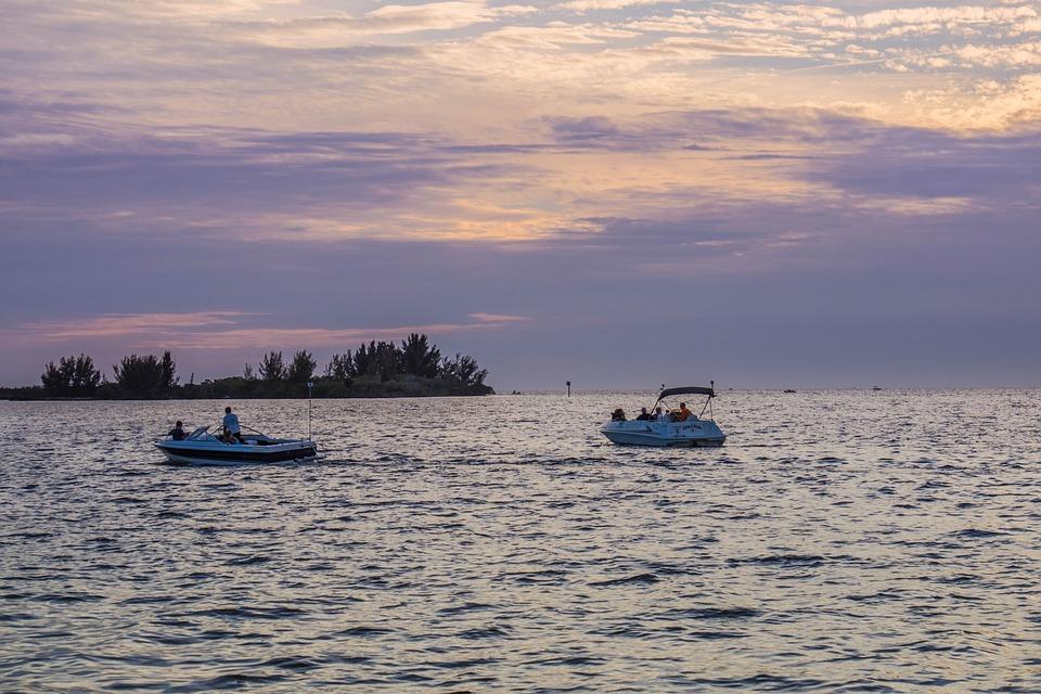 Hudson Beach, Florida, Sunset, Outside, Clouds, Sky