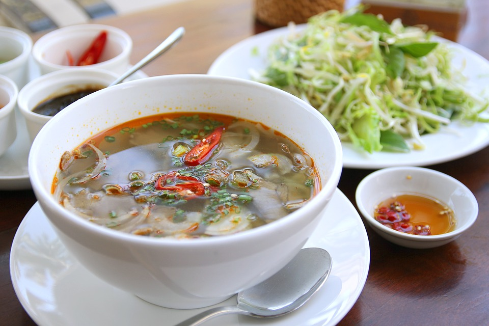 Rice, Vermicelli, Noodle, Beef, Food, Vietnam, Hue
