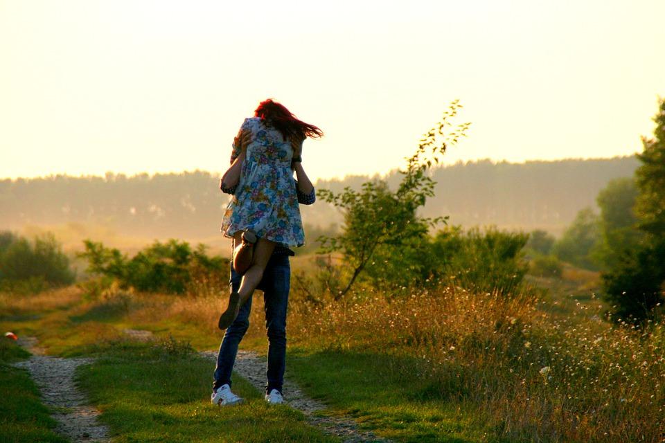 Boy, Girl, Love, Pair, Hug, Kiss, Beautiful, Nature