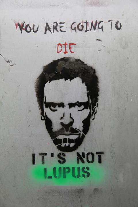 Dr House, Street Art, Hugh Laurie, Hong Kong