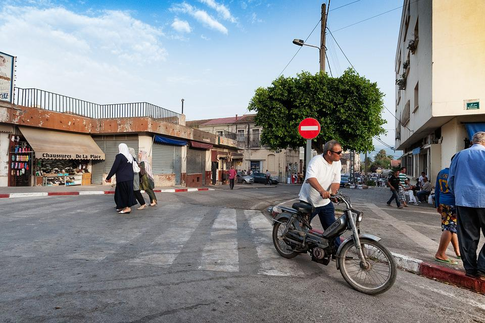 Road, Bejaia, Algeria, People, Mediterranean, Human